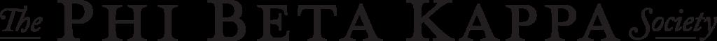 Phi Beta Kappa Black and White Logo